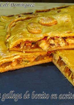Empanada gallega de bonito en aceite