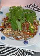 Fácil rápido y gourmet...algo muy saludable...probalos !!!