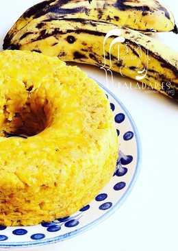 Torta de plátano hartón y queso
