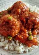 Albóndigas de soja texturizada (veganas)