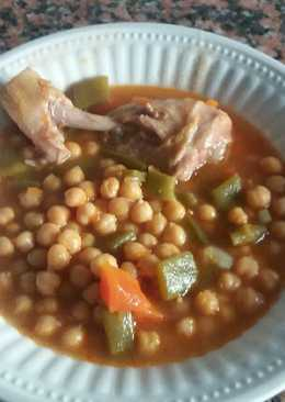 Muslo de pollo olla 600 recetas caseras cookpad - Garbanzos olla express ...