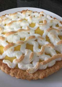 Tarta de hojaldre de limón 🍋
