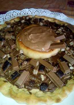 "Pizza KitKat ""Bomba de chocolate"""