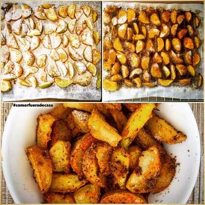 Patatas gajo/deluxe al horno