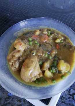 Muslitos de pollo con verduras