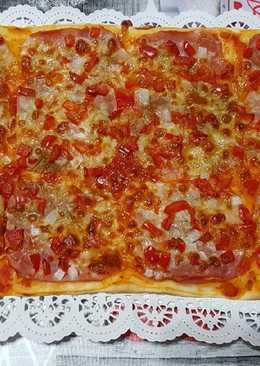Pizza casera 🤗