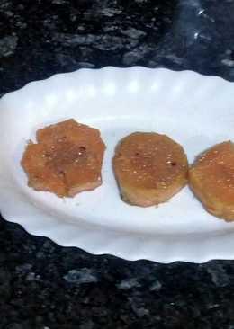 Boniato frito con azúcar