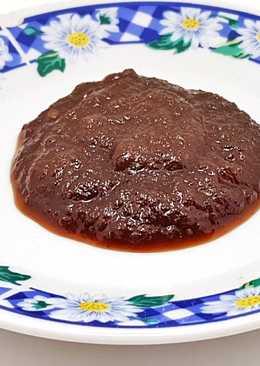 Chutney de Manzana Fuji y Mirin para acompañar asados