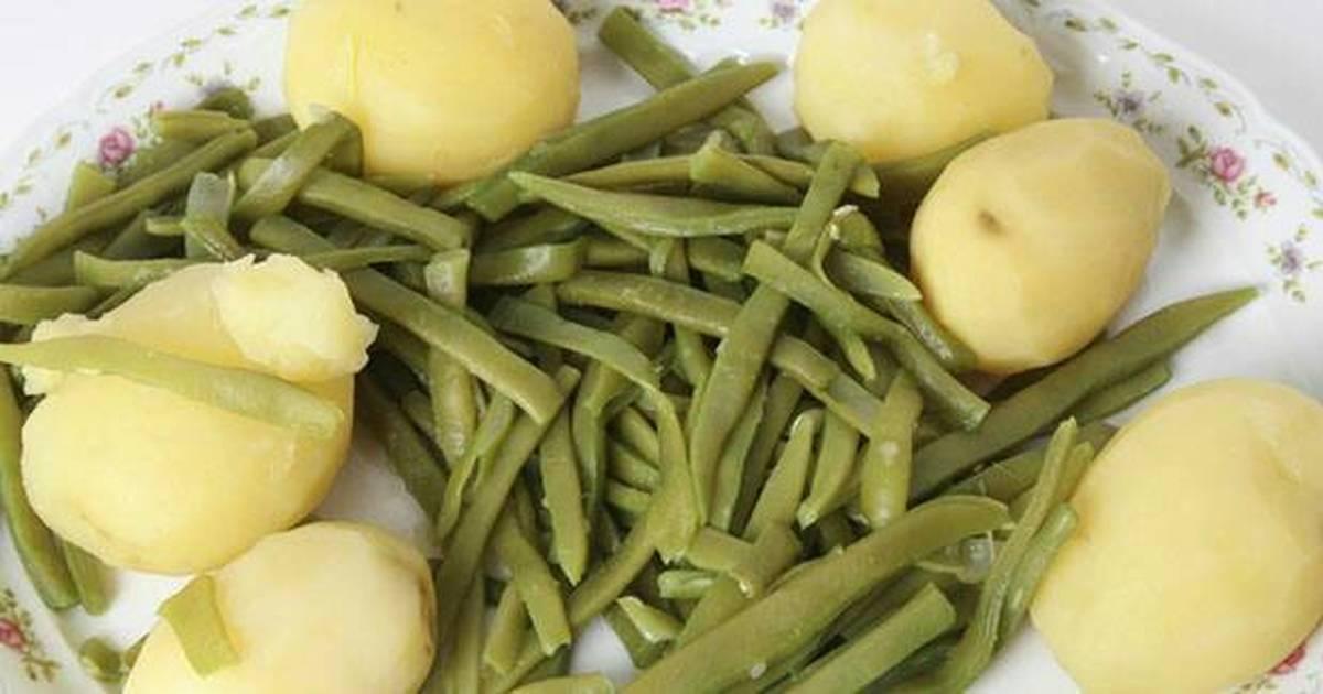 Jud as verdes receta de rosa morcillo cookpad - Judias con chorizo y patatas ...