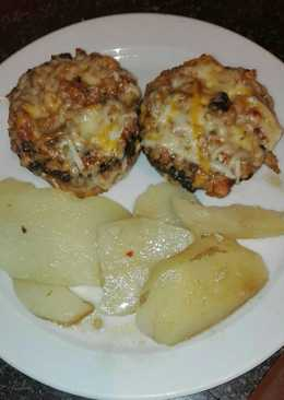Pechuga de pollo con champi ones 164 recetas caseras for Pechugas de pollo al horno con patatas