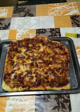 Pizza al estilo marroquí