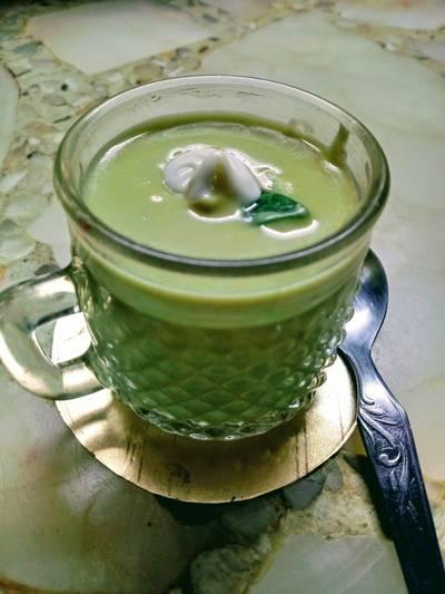 Sopa crema de arvejas