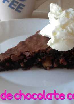 Brownie de chocolate con nueces*