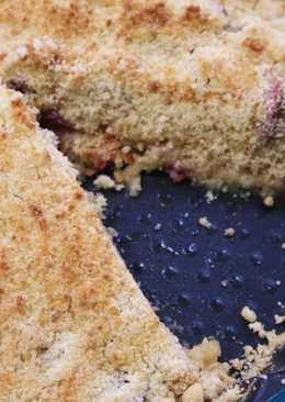 Un postre francés: la galette alsacienne