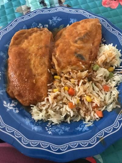 Chilaquilas salvadoreñas
