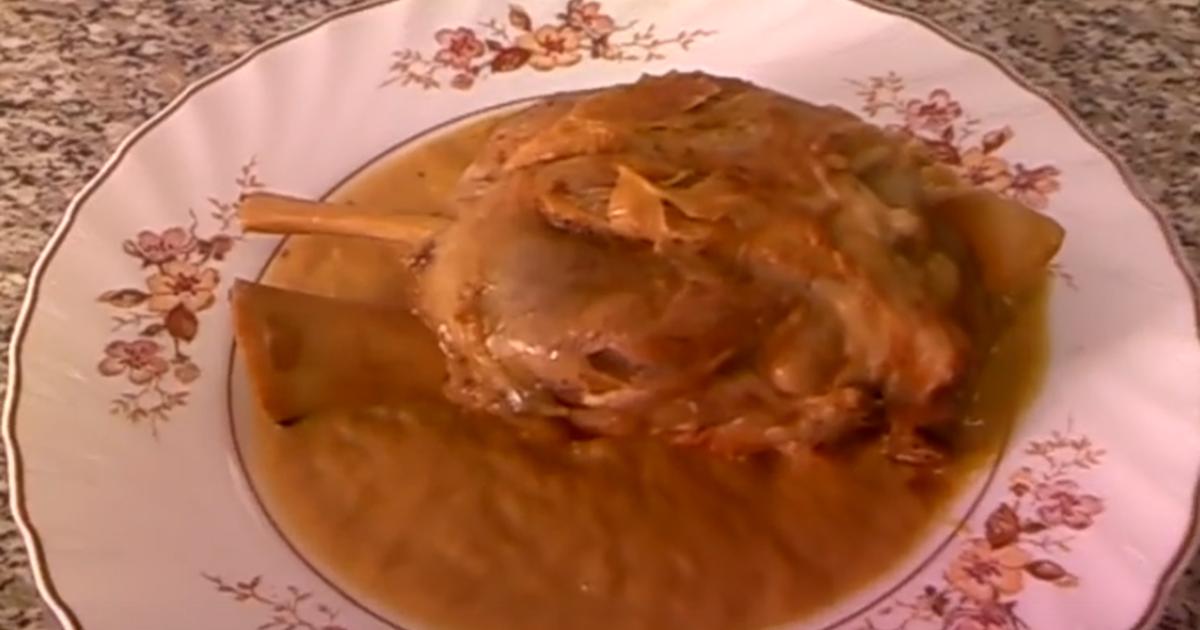 Cocinar Codillo Salmuerizado | Codillo De Cerdo 246 Recetas Caseras Cookpad