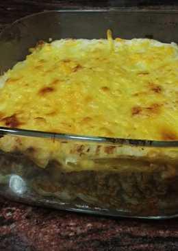 Lasagna boloñesa ligera
