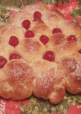 Pan dulce de nata de Navidad con Thermomix
