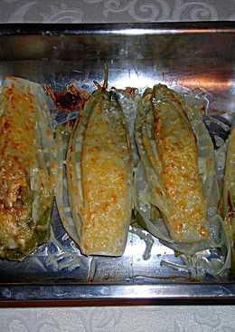 Endibias con queso al horno