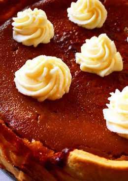 Tarta de calabaza (pumpkin pie) 🎃🎃🎃