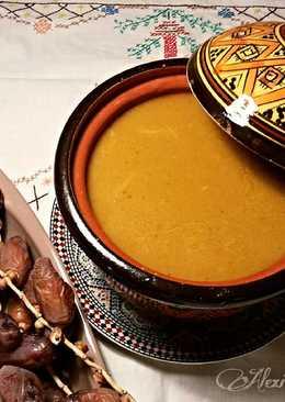 Sopa de vegetales estilo arabe