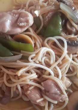 Spaguetis chinos