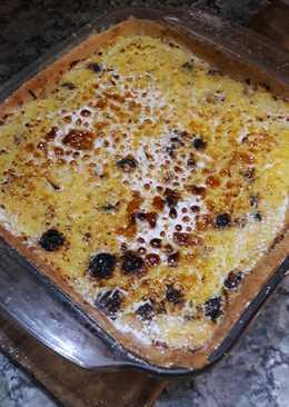 Tarta de Ricota, Manzanas y Pasas de uva