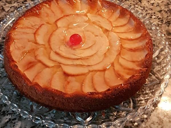 Tarta de manzana y flan🍏🍏🍏