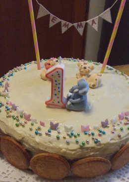 Pastel de cumpleaños para Emma