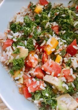 Ensalada de kale fit