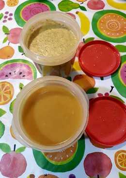 Puré de garbanzos y sopa 2 recetas en la misma cocción