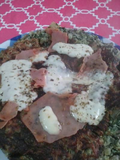 Tortilla de acelgas casera