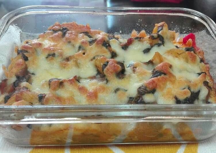 Macarrones con verduras al horno receta de teresa cookpad - Macarrones con verduras al horno ...