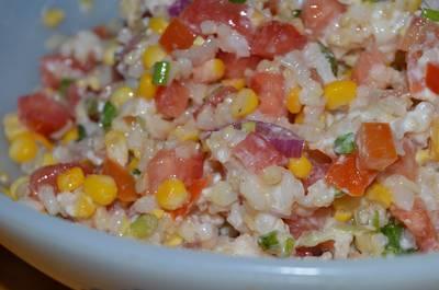 Ensalada de arroz yamaní