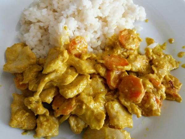 Pollo🍗 al curry