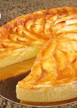 Tarta de manzana sin azúcar para diabéticos