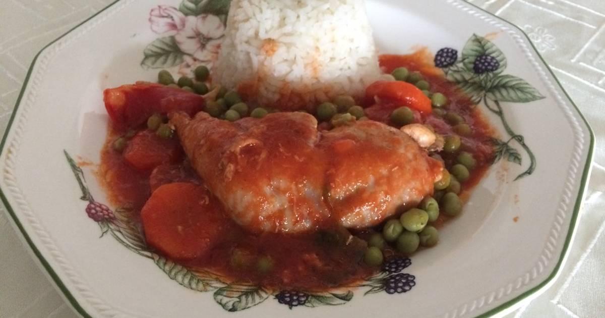 Salsa para acompa ar pollo 59 recetas caseras cookpad - Salsa para pollos asados ...