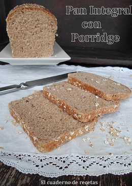Pan Integral con Porridge