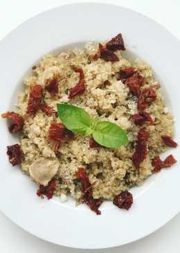 Risotto de quinoa y setas