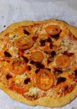 Pizza casera casera