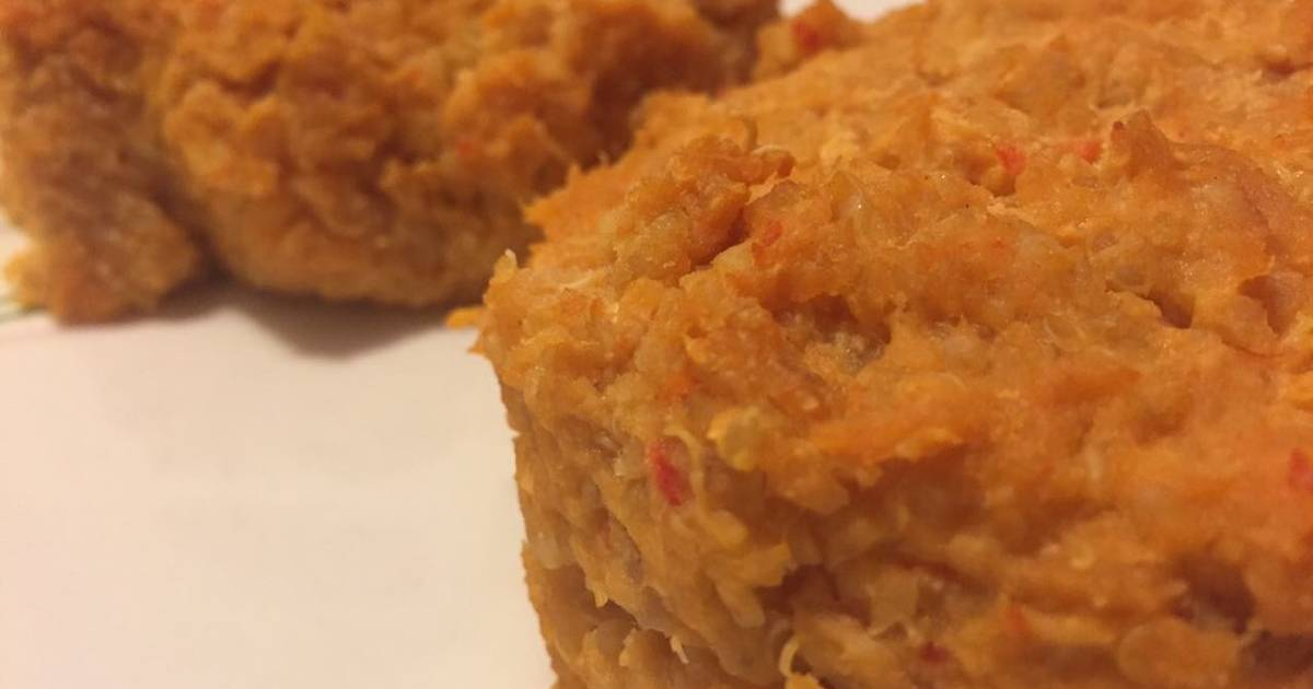 Hamburguesas de quinoa y pollo fit receta de for Cocinar quinoa con pollo