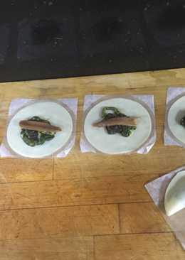 Empanadillas de espinacas con anchoas 😋😋😋😋