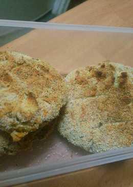 Tortas de merluza al horno