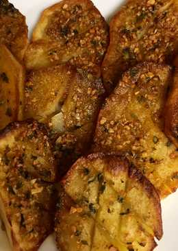 Patata horno con majado