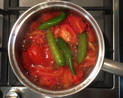 Salsa Roja de Jitomate con Serrano
