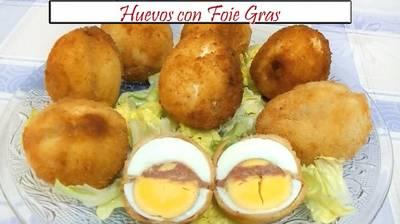 Huevos con foie gras