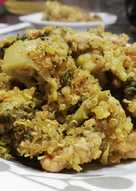 Salteado de Brócoli, Quinoa y Lomo