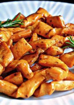 Pestiños con miel de brezo de Cantabria