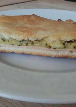 Empanada diferente ¡con calabacín y queso de cabra!🥒🧀