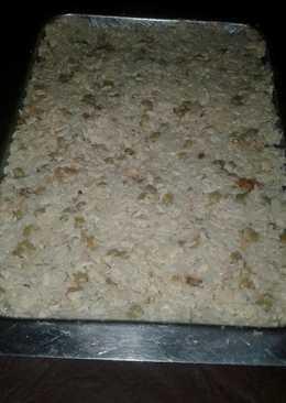 Mayonesa de ave con arroz